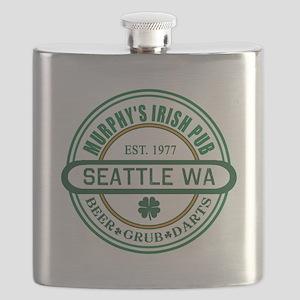Custom Murphy's Pub Flask