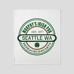 Custom Murphy's Pub Throw Blanket