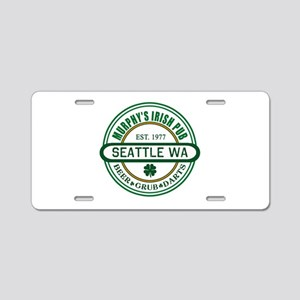 Custom Murphy's Pub Aluminum License Plate