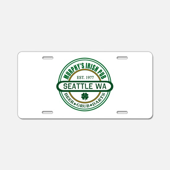 Custom Murphy's Pub Aluminum License Plate