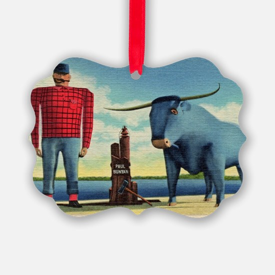 Paul Bunyan Ornament