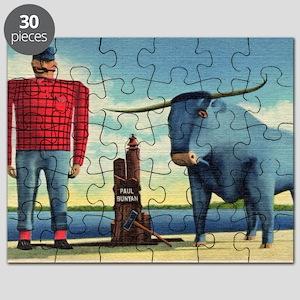 Paul Bunyan Puzzle