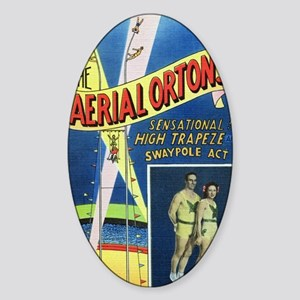 The Aerial Ortons Sticker (Oval)