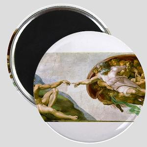 The Creation Of Adam Michaelangelo Magnets