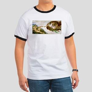 The Creation Of Adam Michaelangelo T-Shirt