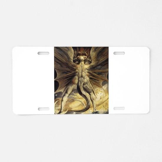The Great Red Dragon William Blake Aluminum Licens