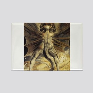 The Great Red Dragon William Blake Magnets