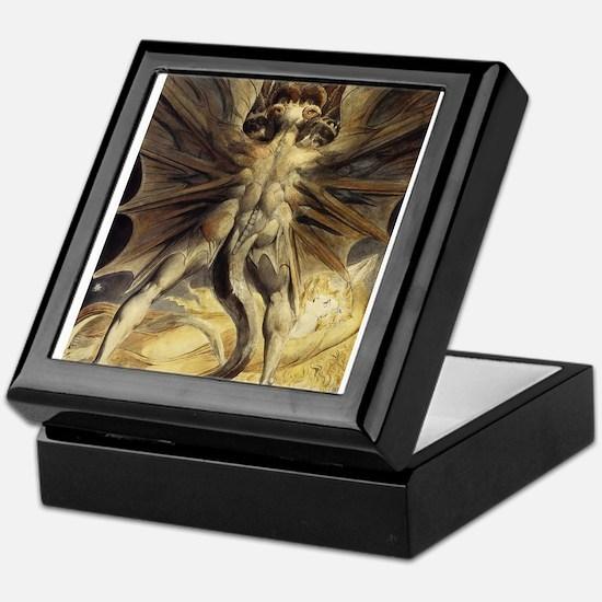 The Great Red Dragon William Blake Keepsake Box