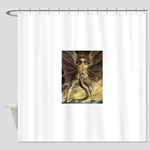 The Great Red Dragon William Blake Shower Curtain