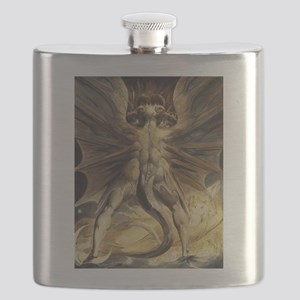 The Great Red Dragon William Blake Flask