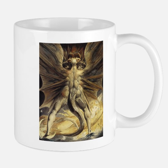 The Great Red Dragon William Blake Mugs