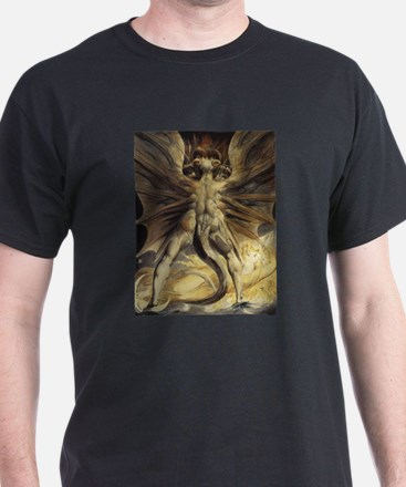 The Great Red Dragon William Blake T-Shirt