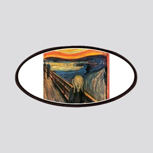 The Scream Edvard Munch Patches