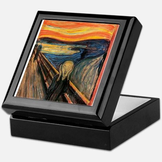 The Scream Edvard Munch Keepsake Box
