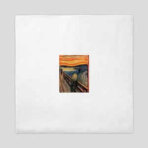 The Scream Edvard Munch Queen Duvet