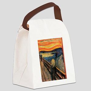 The Scream Edvard Munch Canvas Lunch Bag