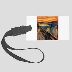The Scream Edvard Munch Luggage Tag