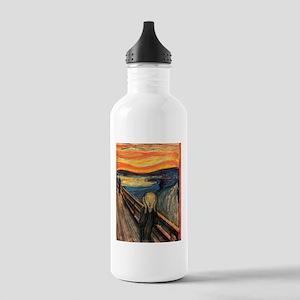 The Scream Edvard Munch Water Bottle