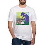 Pet T-Rex Fitted T-Shirt