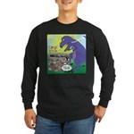 Pet T-Rex Long Sleeve Dark T-Shirt