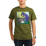 Pet T-Rex Organic Men's T-Shirt (dark)