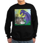 Pet T-Rex Sweatshirt (dark)