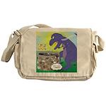 Pet T-Rex Messenger Bag