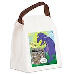 Pet T-Rex Canvas Lunch Bag