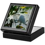 White Egret Wing - Photo Art Keepsake Box