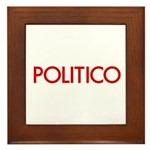 Politico Framed Tile