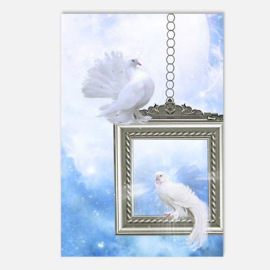 Peace Dove 2 Postcards (Package of 8)