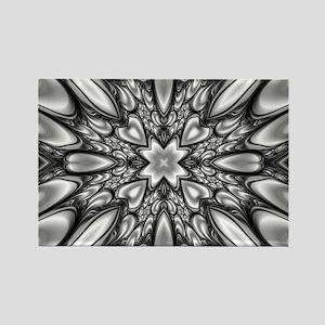 Melting Pattern Rectangle Magnet