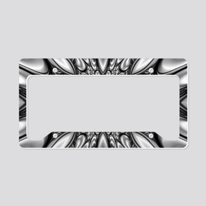 Melting Pattern License Plate Holder