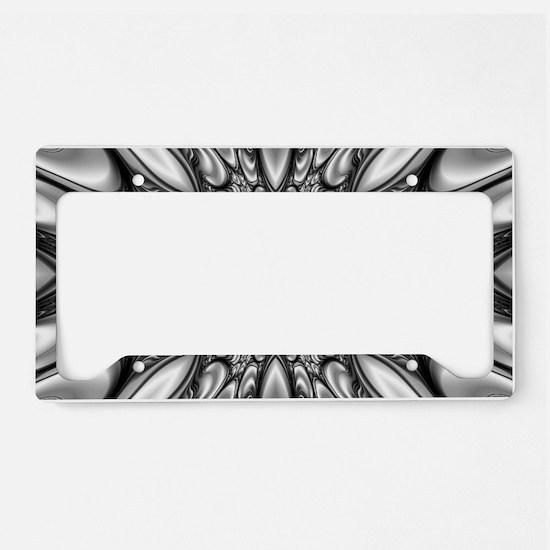 Melting Pattern License Plate Holder