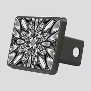 Melting Pattern Rectangular Hitch Cover