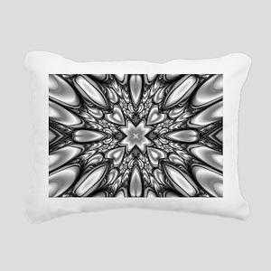 Melting Pattern Rectangular Canvas Pillow