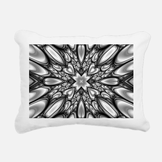 Melting Pattern Rectangular Canvas Pillow