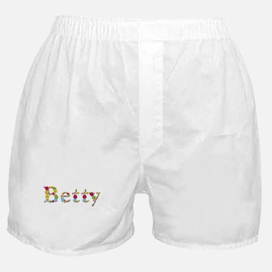Betty Bright Flowers Boxer Shorts