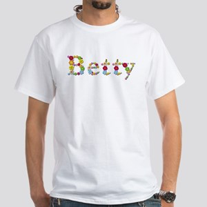 Betty Bright Flowers T-Shirt