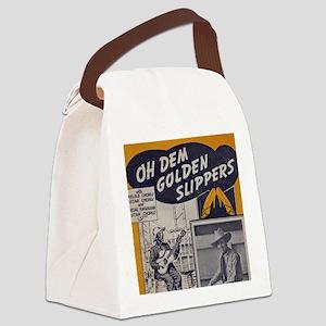Golden Slippers Sheet Music Canvas Lunch Bag