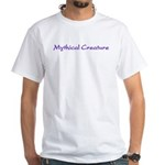 Mythical Creature White T-Shirt