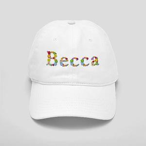 Becca Bright Flowers Baseball Cap