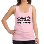 Coffee The Most Important Meal Racerback Tank Top