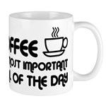 Coffee The Most Important Meal Mug