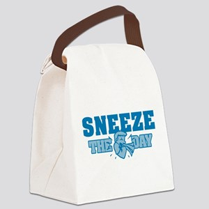Sneeze The Day Canvas Lunch Bag