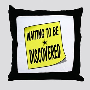 DISCOVERED Throw Pillow