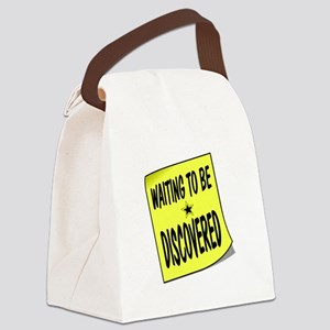 DISCOVERED Canvas Lunch Bag