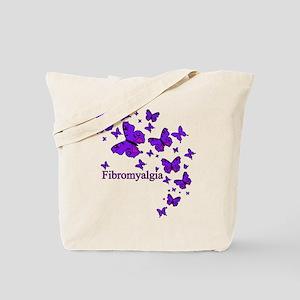FIBROMYALGIA EYE BUTTERFLIES Tote Bag