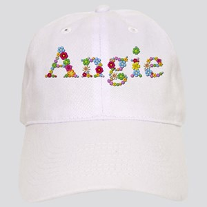 Angie Bright Flowers Baseball Cap