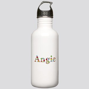 Angie Bright Flowers Water Bottle